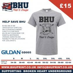 SUPPORTING BHU SKULL